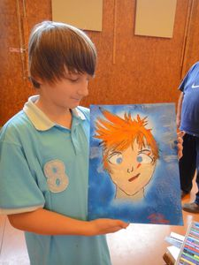 Artiste Peintre Plasticien Ardennes Flo Megardon Manga7