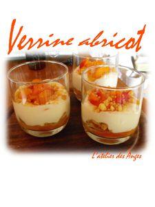 Verrine abricots 2