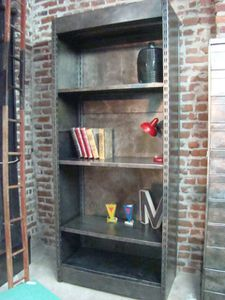 etagere metal rosycabroc design industriel. Black Bedroom Furniture Sets. Home Design Ideas