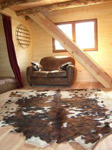 Intérieur de cabane - Déco bois