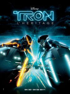 affiche Tron legacy Light cycle