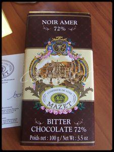 Chocolat noir Mazet