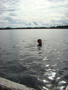 Baignade dans le Rio
