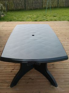 Awesome Renover Sa Table De Jardin En Plastique Pictures - House ...