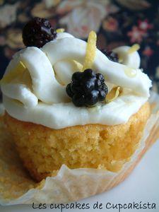 Cupcakes Mûre à L'Huile d'Olive
