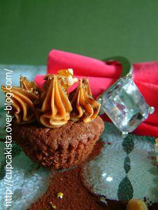 Cupcakes Chocolat aux Epices de Noël et au Spéculoos-2
