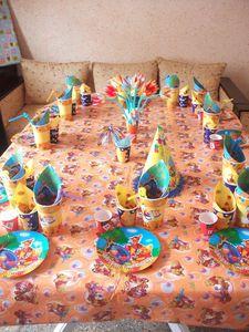Table D Anniversaire Winnie L Ourson Pour Enfant Cuisinestyle