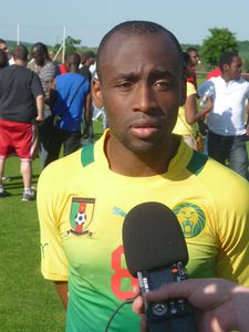 Willie Overtoom Cameroun vs Guinée 2