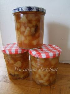 Confiture poires epices badiane 01