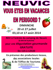 accueil camping 2014