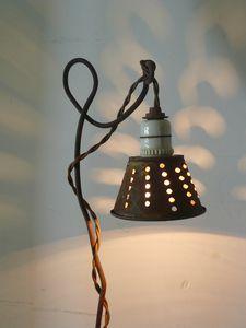 lampe, lumière, création unique, bois d'âme, éclairage,