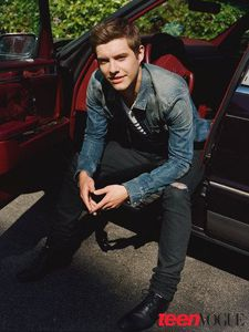 xavier samuel glamour uk top