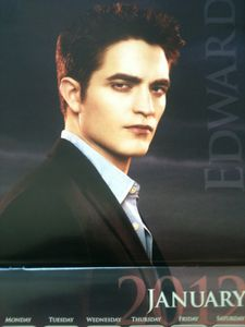 Breaking Dawn Calendar - Edward 1