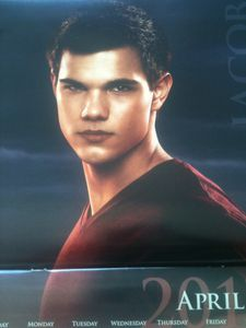 Breaking Dawn Calendar - Jacob 1