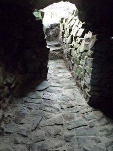 escalier bivouac de la sorcière