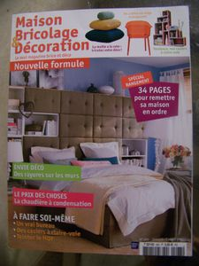 petit clin d 39 oeil au magazine maison bricolage. Black Bedroom Furniture Sets. Home Design Ideas