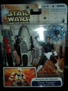 Collection n°182: janosolo kenner hasbro - Page 4 Clone-trooper-with-speeder-bike
