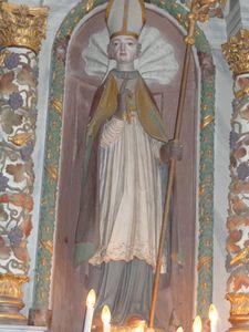 Auvillars Statue de saint
