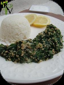 Sabankhiyye - Epinards-a-la-Syrienne [végétarien]