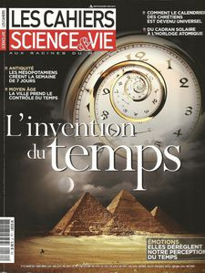 Les Cahiers de Science &amp; Vie - L'invention du temps
