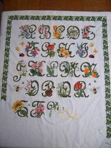 28 ensemble de mon Garden Alphabet (jusqu'au début du
