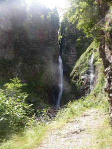 120 R cascade pyrénéenne