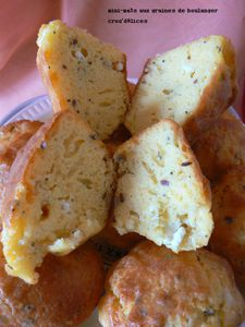Mini-maïs aux graines de boulanger