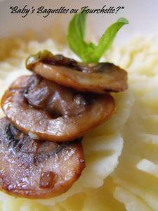 puree pomme de terre champignon oignon2
