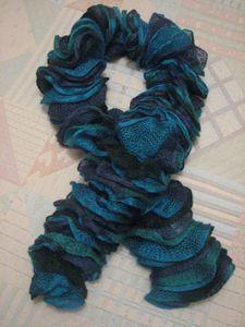 2011.11.30 Echarpe bleue