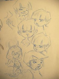 expressions gamin