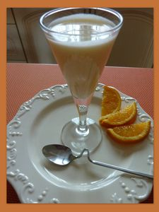panacotta orange de Armelle