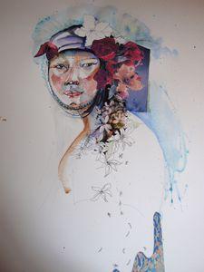 8 BRONNER 4 portrait vietnam 50sur65 cm