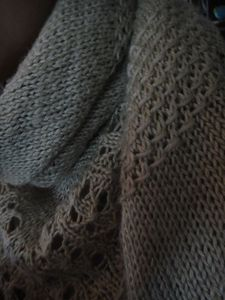 Textured Shawl 02