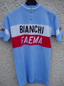 R maillot BIANCHI 1978