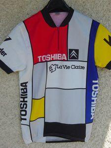 R maillot La Vie Claire Giro 1986