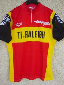 R maillot TI-RALEIGH 1976