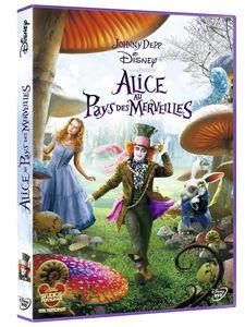 3D DVD Alice au pays des merveilles (Tim Burton)