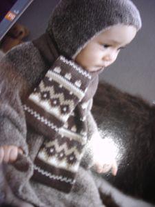 Projet d'écharpe pour bébé 01.2011