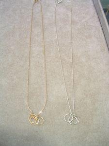 collier 3 anneaux