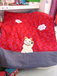 grande couverture chat georges et rosalie