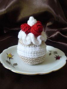 cal petit gateau chantilly-framboises