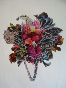 Bouquet collage