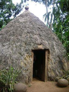 Case traditionnelle Chagga