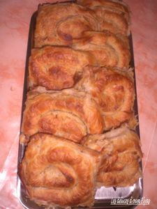 Feuilletés escargots farcis (4)