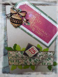 Carte de Noël Nico