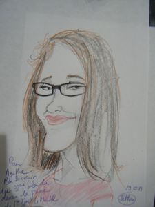 Saint-Just 2013 Caricature Agathe