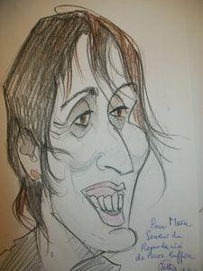 caricature de Maria