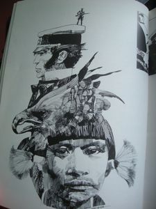 Sergio Toppi Dedicated to Corto Maltese