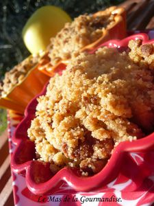 crumble pommes spéculoos 1