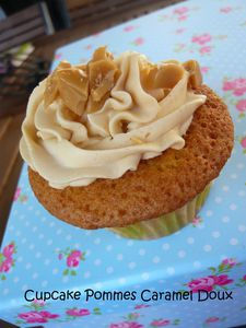 Cupcake Pommes caramel 1